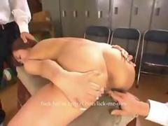 Humiliation of blackmailed Asian teacher