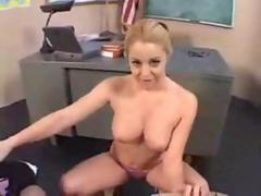Nasty Classroom Sex Between Teacher And Student