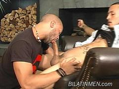 Two hot bilatinmen getting in to hot fucking action