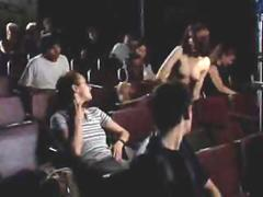 Public sex in crowded cinema movie