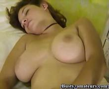 Serena strips and toying her pussy