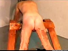 Female prison punishment spanking 3