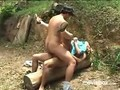 Brazilian girl scout double penetrated
