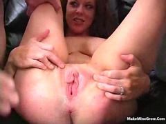 Great Blower Blonde in Anal action 2