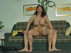 Sexy German MILF In Action