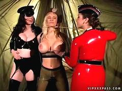 Three bitches in latex sex 3