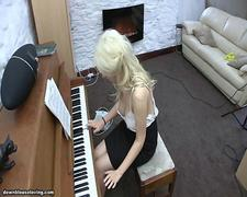Holly Piano Downblouse - Downblouse Loving