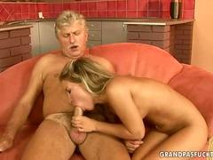 Gray haired geezers Fuck arousing Teens in a Compilation