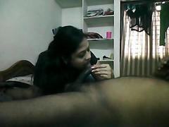 Telugu randi Sima from Vizag blowjob to customer