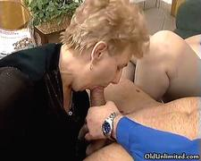 Nasty old sluts go crazy sucking cocks movie