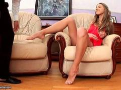 Beautiful Anjelica enjoys anal sex