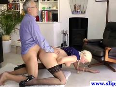 British slut loves to be doggy style nailed HD