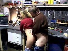 Blonde babe catfight leads to a hardcore fuck session!