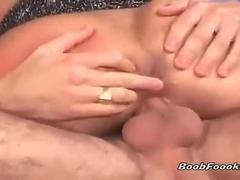 Gorgeous blonde takes big cock in her ass