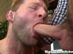 Colby Jansen gives big cock head