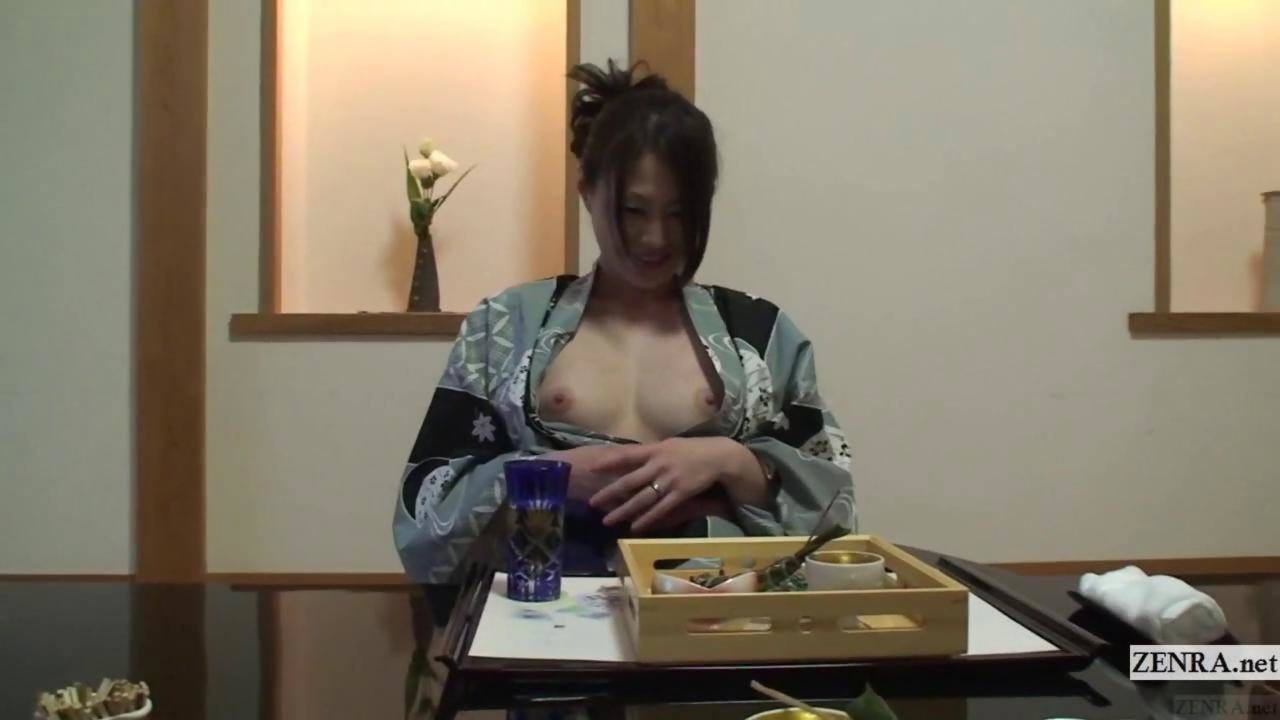 Uncensored japanese anna anjou brusquely stripped for sex 9