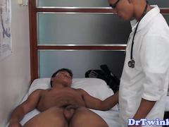 Twink asian MD pumping patients dick