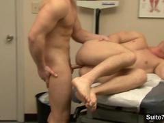 Sexy patient gets fucked by gay doctor