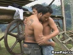 Wild Latin Cowboys Get Some Bareback Action