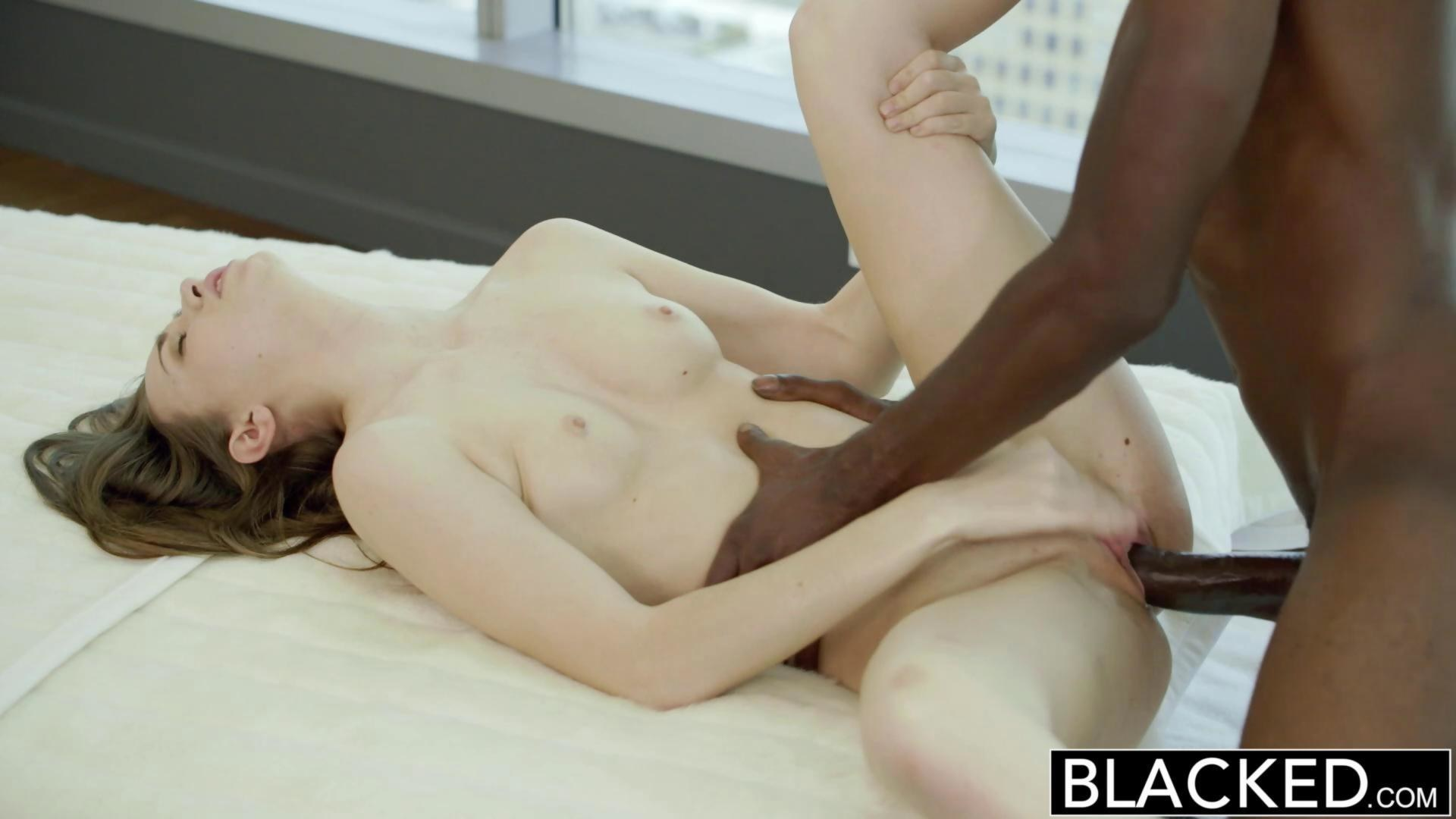 Blacked tali dovas boyfriend lets her try a big black cock - 1 7