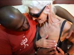 French granny Clarisse anal fucked