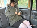 Fat mature lady deep fucked in taxi