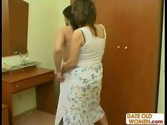 Russian MILF Marina with Young Lover