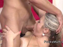 Guy fucks best friends blonde mom