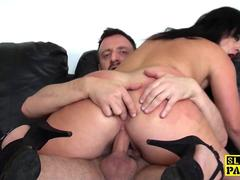 Sub mature whore analfucked and loves it