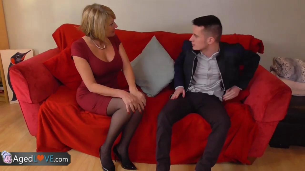 Agedlove nice blonde granny is fucked by horny man 9