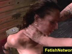 FetishNetwork Fiona Rivers ass training