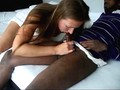 Black dude fucking a cheating white chick