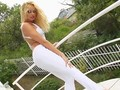 Solo hottie Chrystine masturbating on Give Me Pink with passion