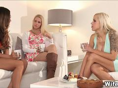 Tea Party with Wives turns Sexy