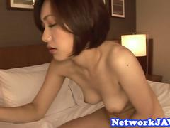 Seductive japanese milf gets pounded