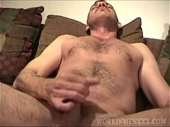 Mature Amateur Geoff Jerking Off