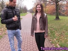 Dutch babe gets pounded