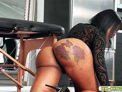 Cock hungry Moriah Mills eat up the whole slab