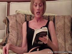 Granny is keen to get banged by this dude with a colossal member in many positions in pov