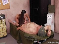 Asian Teen Long Brunette Hair Fuck Paradise