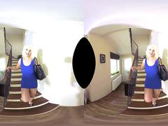 Luci Angel has anal creampie in virtual reality