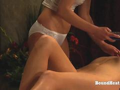 The Submission of Sophie Erotic Massage With Obedient Slave