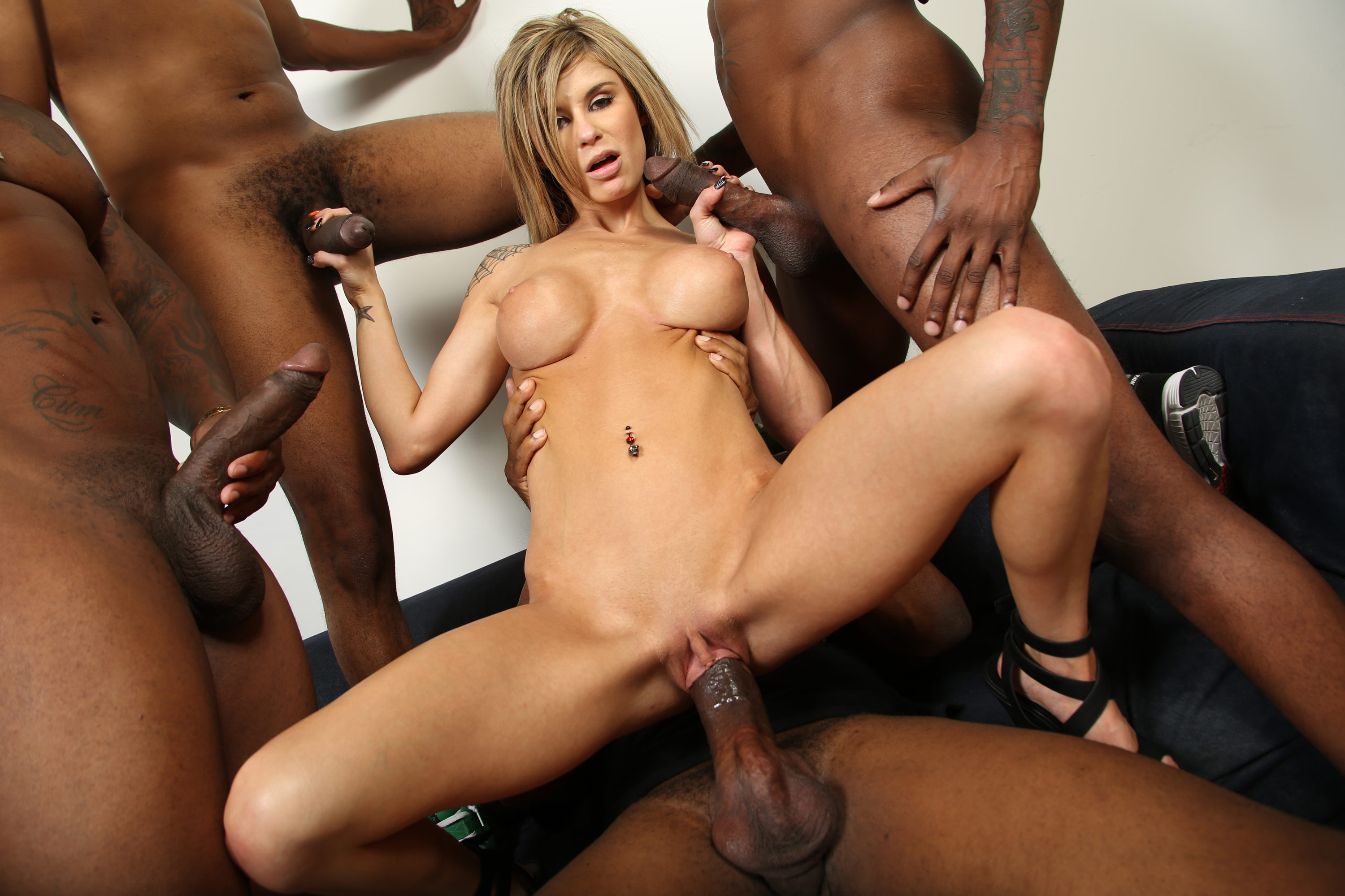 Alyssa lynn takes bbc in front of not her son - 3 part 6