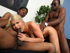 Layla Prices First Interracial Threesome